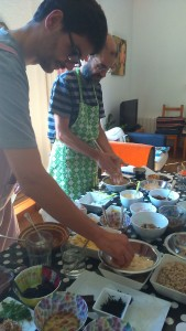 taller de cuina vegetariana